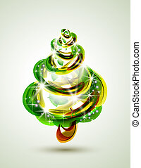 Christmas tree - abstract Christmas tree