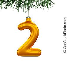 Christmas Tree Font: 2