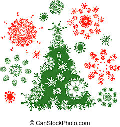 Christmas tree for your design