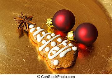 Christmas tree gingerbread
