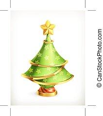 Christmas tree icon