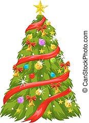 Christmas Tree, illustration