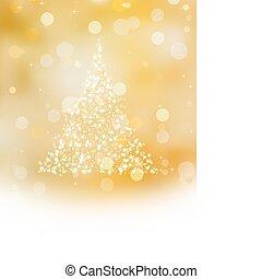 Christmas tree illustration. EPS 8