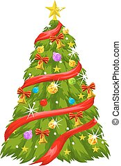 Christmas Tree, illustration