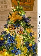 Christmas Tree inside Utah State Capital Building