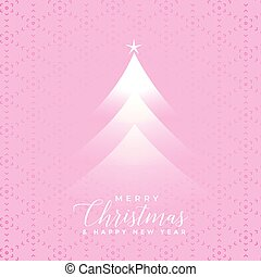 christmas tree light effect background
