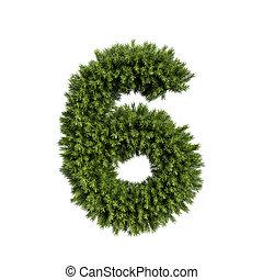 Christmas tree number 6