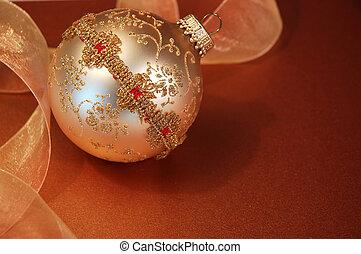 Christmas Tree Ornament - Vintage handmade victorian...