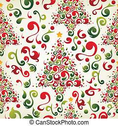 Christmas tree pattern