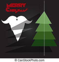 Christmas tree, Santa Claus