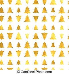 Christmas tree seamless background
