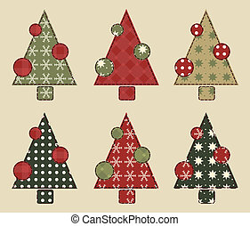 Christmas tree  set 2