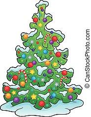 Christmas tree topic image 7