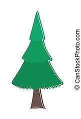 Christmas Tree Vector Design