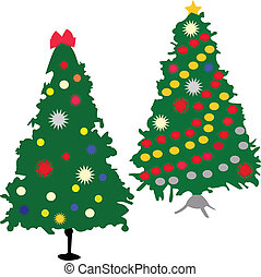 christmas tree - vector