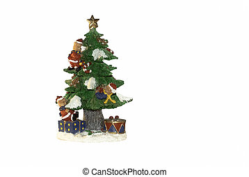Christmas  tree with bears