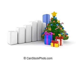 Christmas tree with chart