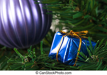 Christmas Tree with Gift Box