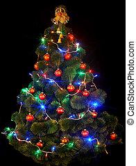 Christmas tree with led light. - Christmas tree with led...