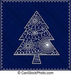 Christmas treebackground