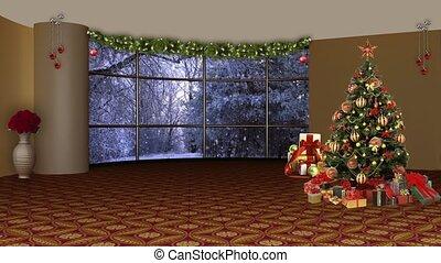 Christmas TV Studio Set- 08