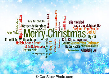 Colorful christmas greeting in many languages colorful christmas merry christmas written in many languages m4hsunfo