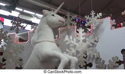 christmas unicorn