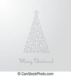 Christmas vctor card.