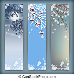 Christmas Vector Banners