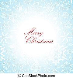 Christmas vector card