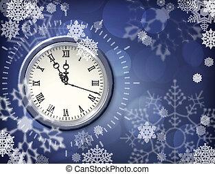 Christmas vector clock
