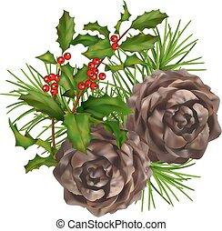 Christmas vector composition