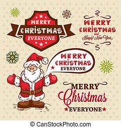 christmas vector elements