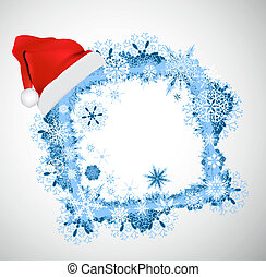 Christmas vector frame. Christmas b