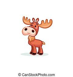 Christmas Vectors - Moose