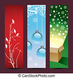 Christmas vertical background
