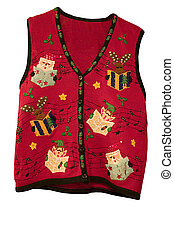 Christmas Vest - a cheerful holiday vest