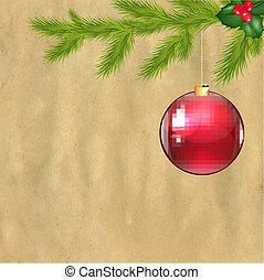 Christmas Vintage Composition