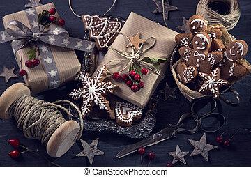Christmas vintage gifts