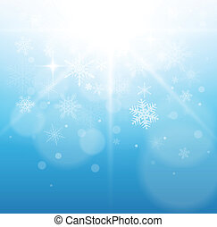 Christmas, winter background, vector illustration.