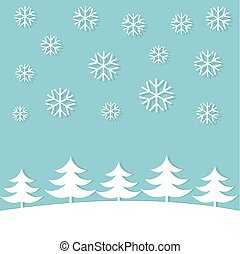 Christmas winter card
