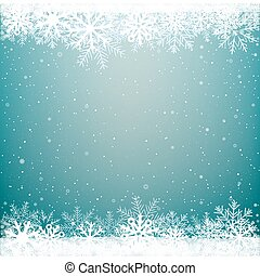 Christmas winter snow background