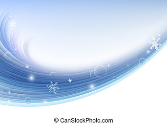 Christmas winter vector background