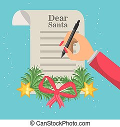 christmas wish list design