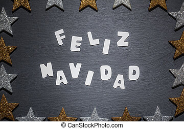 Christmas wishes in Spanish language