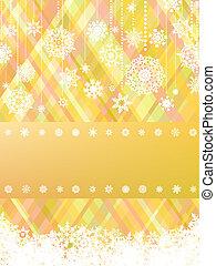 christmas with christmas snowflake. EPS 8
