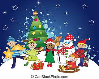 christmas with kids