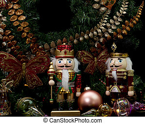 Christmas Wooden Nutcrackers - Christmas wooden nutcrackers,...