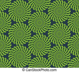 Christmas Wrapping Paper Spiral pattern