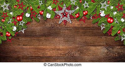 christmas xmas old rustic oak wood background